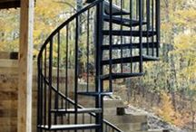 Stair cases / Deck