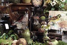 spring decor/merchandising