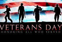 Happy Veterans Day! / Honoring all those who served.
