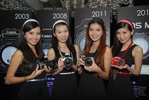 Canon EOS M Mirrorless Camera Finally Announced!  / Canon's EOS M large-sensor compact camera is here and the company can finally join the growing mirrorless camera group.  Featuring the same 18-megapixel APS-C image sensor and Digic 5 image processor which the new EOS 650D DSLR houses, it offers Live View autofocus, built-in stereo microphones and is capable of capturing 1920 x 1080 pixels resolution videos at 24, 25, and 30fps. Fundamentally speaking, the Canon EOS M is a condensed version of the EOS 650D.