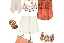 Stella and Dot summertime chic / Cute summer outfits adorned with Stella and Dot accessories