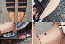 Simson Schwalbe Tuning /Holz/ Trittbretter / Schwalbe Simson