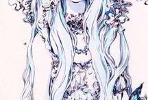 one anime girl