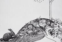 Illustrations of my mind / Illustrations