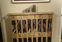Möbel aus Paletten und Weinkisten