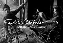 Amsterdams Blauw - F/W 14 / We're proud to announce the 8th season of Amsterdams Blauw! We have drowned ourselves in blue gold, to bring you a collection that fits any denim wizard.