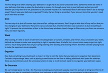 Bathroom Cleaning Tips / Bathroom Cleaning Tips and Advice