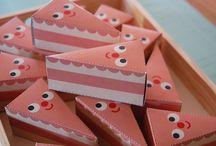 Cake Slice Treat Boxes
