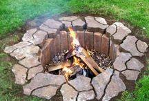 Firepit ideas / by Kimberly Skelding