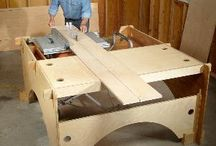 wood and wood shop ideas / by Ron