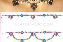 Peyote necklace long