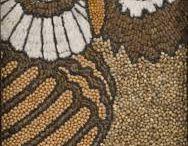 Мозаика из крупы