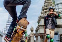 Skateboarding is not a Crime / Skateboarding. A true Religion.