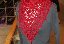 Crochet  / Haken omslagdoeken vesten mutsen en meer / gehaakte omslagdoeken en ponchos, shrugs, bolero's, vesten , cowls etc.