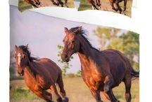3D Horses Bedding