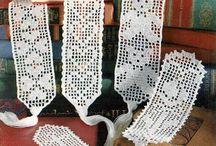 Marcadores de libros en crochet