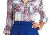 CR Mad for Plaid / by Charlotte Russe