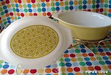 Pyrex I have  / To help keep track of all the Pyrex I have found in my thrift shop adventures.