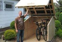bike racks and storage