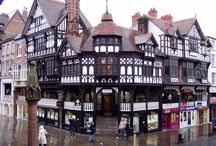 Medieval Chester, England / Exploring Medieval Buildings, Roman Walls and Tea Shops in the beautiful English City of Chester, UK.