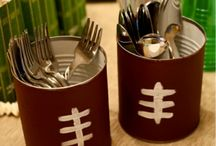 Football / Utensil Holder / by Sharon Buchanan