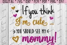 SVG or DXF Baby, Babyshower