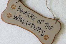 beware of dog boards