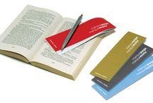 MARQUE-PAGE _ BOOKMARK / LES MOTS QUI MARQUENT _ Vous aimez lire un crayon à la main? Les petits carnets de la série MARQUE-PAGE ont été conçus pour marquer la page et annoter les mots qui frappent, les phrases qui bousculent la réflexion. Tout en laissant votre livre intact. _ WORDS WITH MEANINGS _ Do you read with a pen in hand? The small notebooks from the BOOKMARK series were designed to keep your place within a book but also to jot down words that strike you or passages that trigger your thoughts