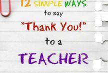 Teacher Appreciation Week Ideas and Teacher Gifts