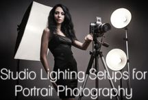 Photography - lighting / Lighting tutorials and tips, intended for high school photography class