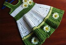 Crochet - Girls Clothing / by Judys Cuties
