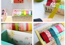 Washi tape / by Felicity Mcgregor