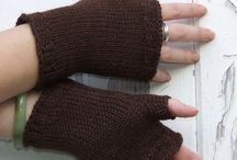 mitaines / mittens / fingerless