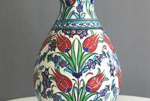 Çini vazo