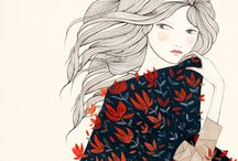 ilustracion mujer