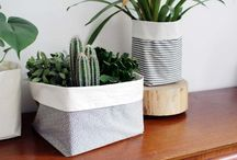 Fabric plant boxes