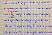 cm2 écriture