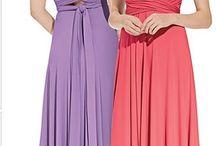 Wrap and Tie Bridesmaid Dress