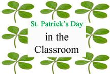 St. Patrick's Day Classroom / St. Patrick's Day ideas for your classroom. / by Tree Top Secret Education