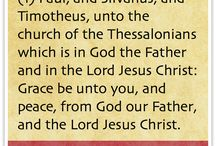 1st Epistle to the Thessalonians
