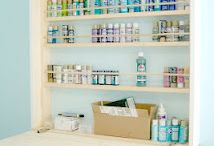 Craft room ideas / by Ursina loves crafting