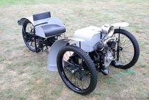 A faithful recreation of the 1909 Morgan runabout by Chris Booth