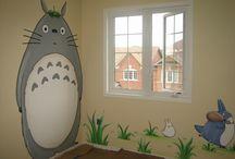 Totoro's bedroom