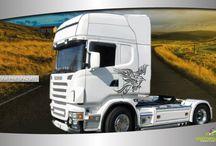 adesivi per camion