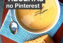 Melhores receitas do Pinterest