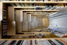 All About Books  / Cool designs and ideas for bookshelves, libraries, book stores, etc.