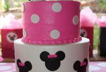 Bolos decorados Minnie