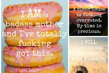 Badass Postpartum Affirmation Cards