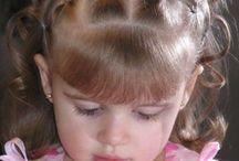 penteados crianças