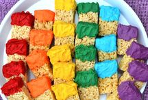 Color Play Date / Play date ideas for a play date with a color theme. Explore colors!